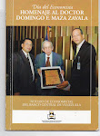 Día del EConomista. Homenaje al dR. D.F. Maza Zavala