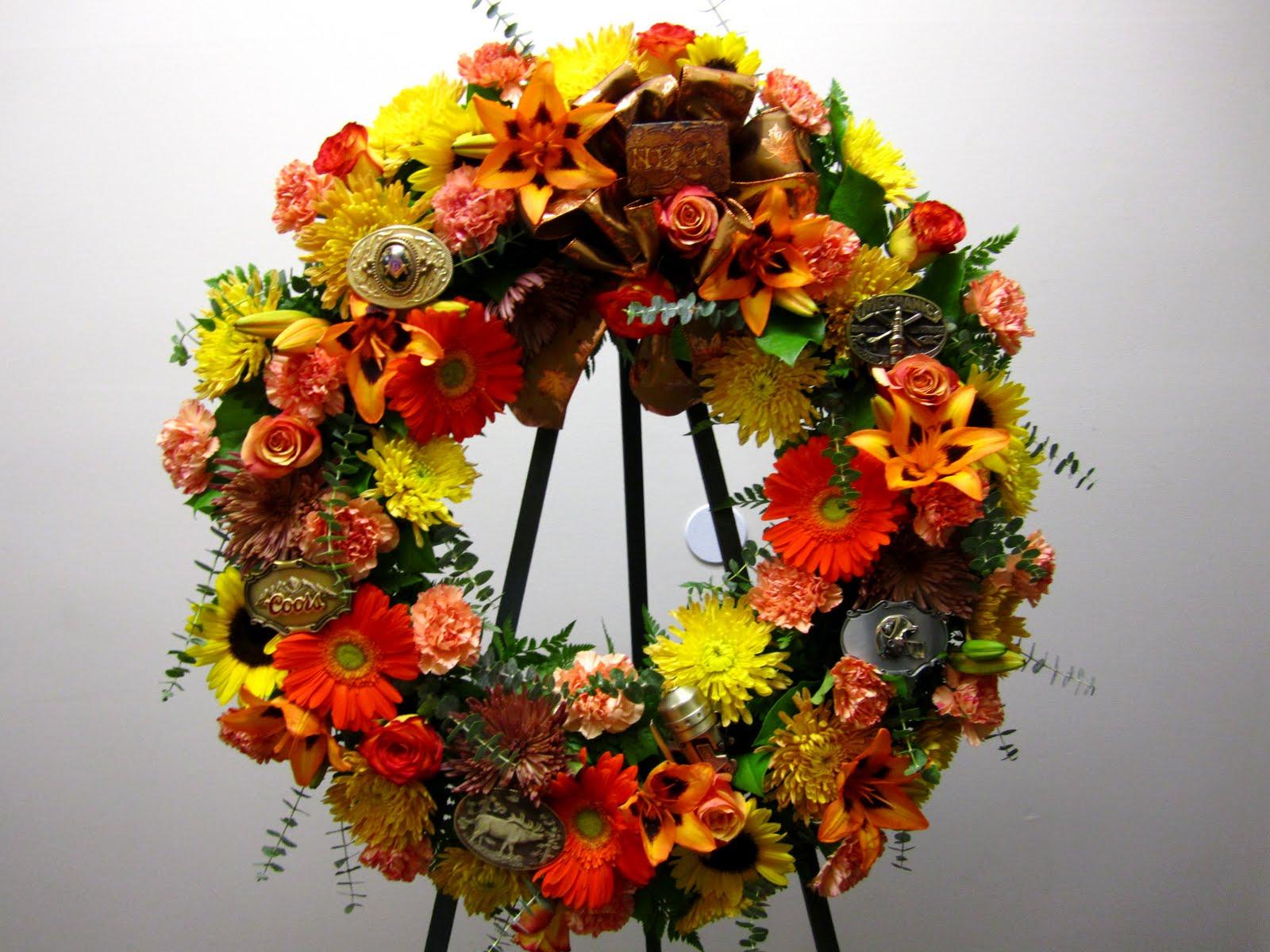 Bernardos flowers custom made wreath custom made wreath izmirmasajfo