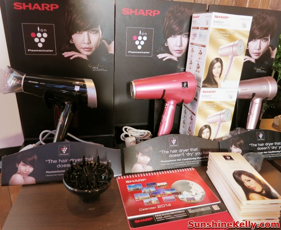 Kose  Sharp Pre CNY Beauty Workshop, cny2014, beauty workshop, kose, sharp, kose sekkisei, makeup, skincare, sharp ion plasmacluster, conditioning hair dryer, Sharp Ion Conditioning Hair Dryer, IB-HD73 7000, IB-HD52 7000, IFPB1S