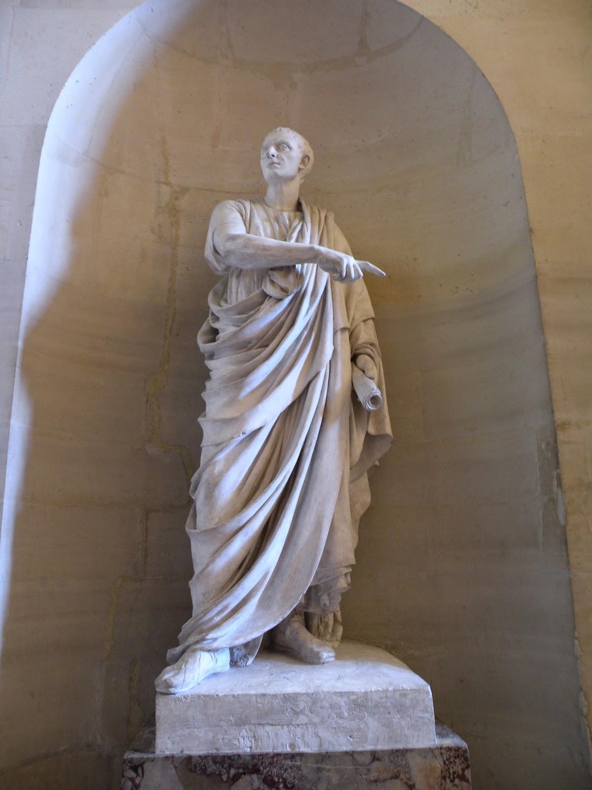Jean Antoine Houdon Ciceron – statue av Cicero