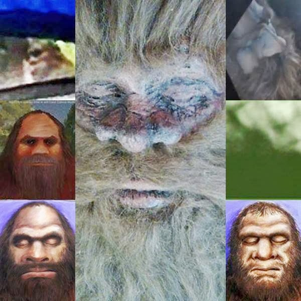 many faces of Rick Dyer's Bigfoot