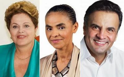 Vox Populi mostra Dilma 9 pontos à frente de Marina.