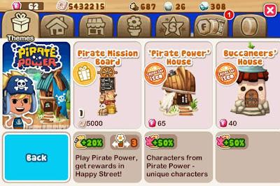 Pirate Power Theme Buildings