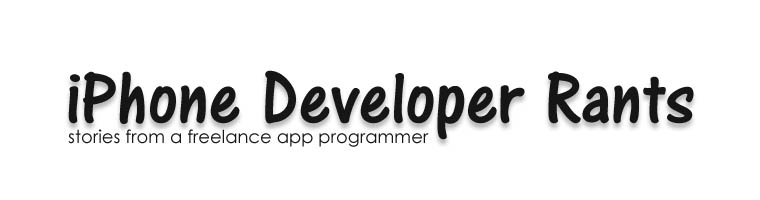 iPhone Developer Rants