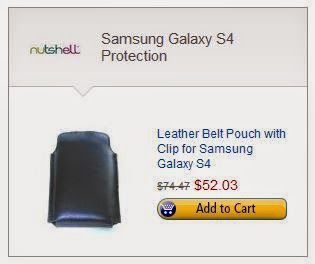 Nutshell Galaxy 4 Holster on Amazon