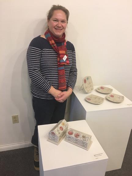 Finlandia Gallery hosts Finnish American Artist Kristin Pavelka