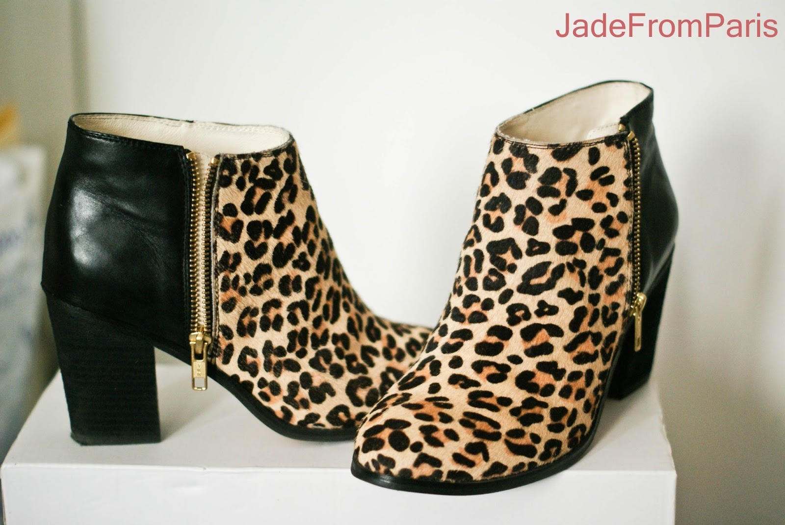 chaussures boots leopard. Black Bedroom Furniture Sets. Home Design Ideas