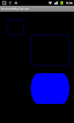 Draw round-rect on canvas, drawRoundRect()