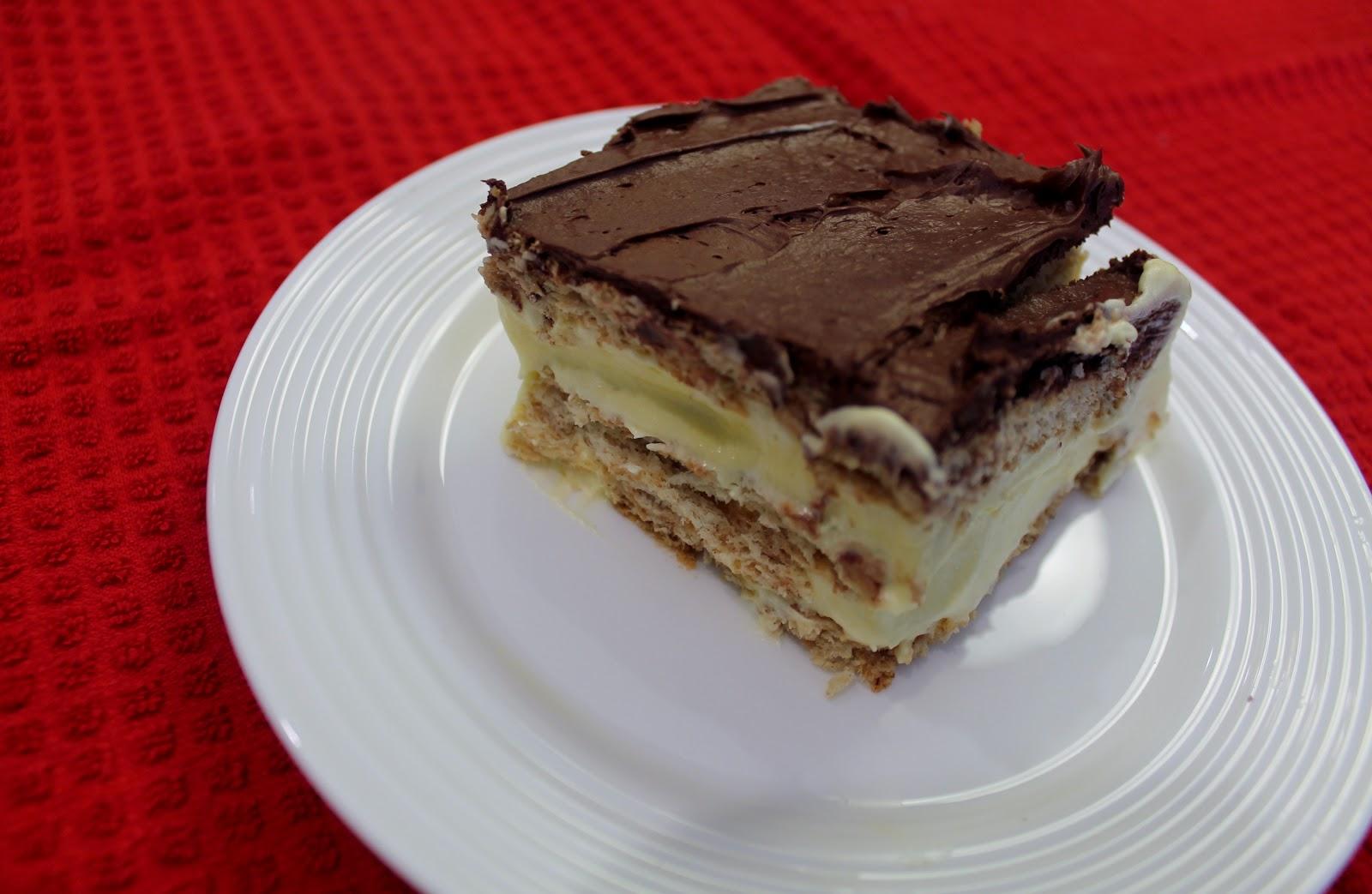 Key Ingredients: Chocolate Eclair Cake