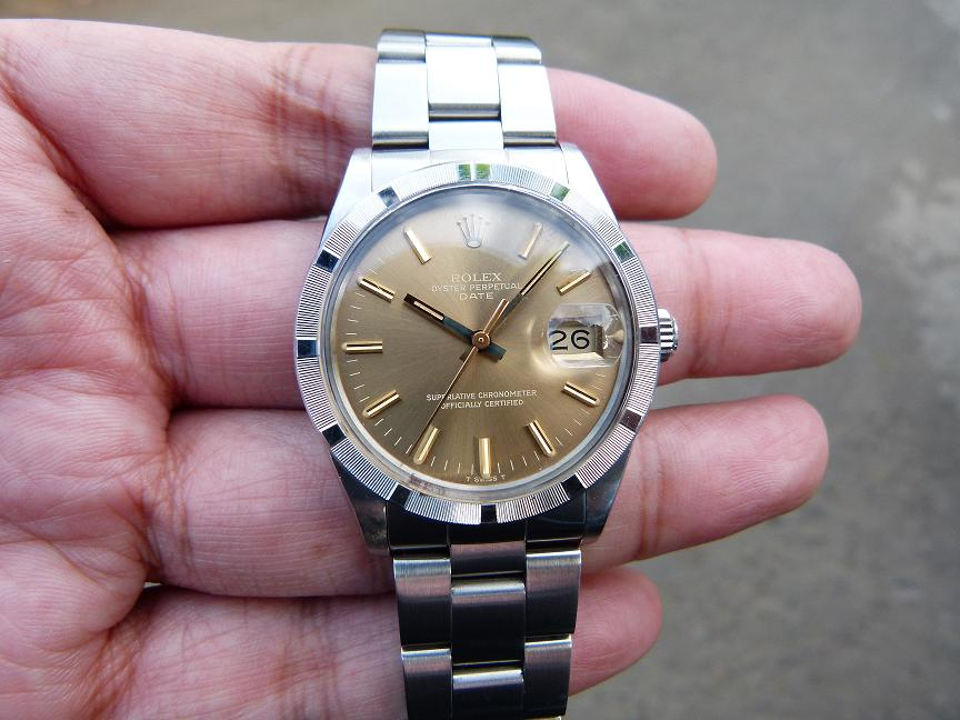 Jam Tangan For Sale Rolex Date Ref Quick Set Sold