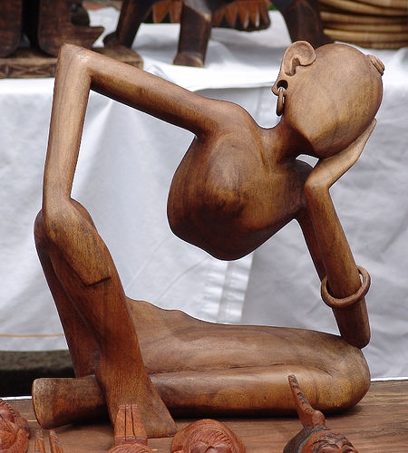 African Art Wood Carvings