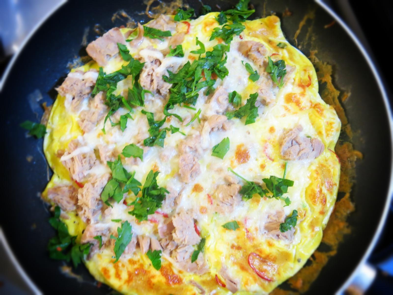 Ton Balıklı Yumurta Salatası