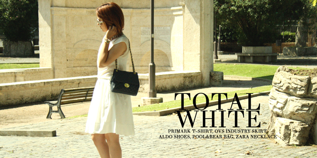 Fashion Blogger Outfit Total White