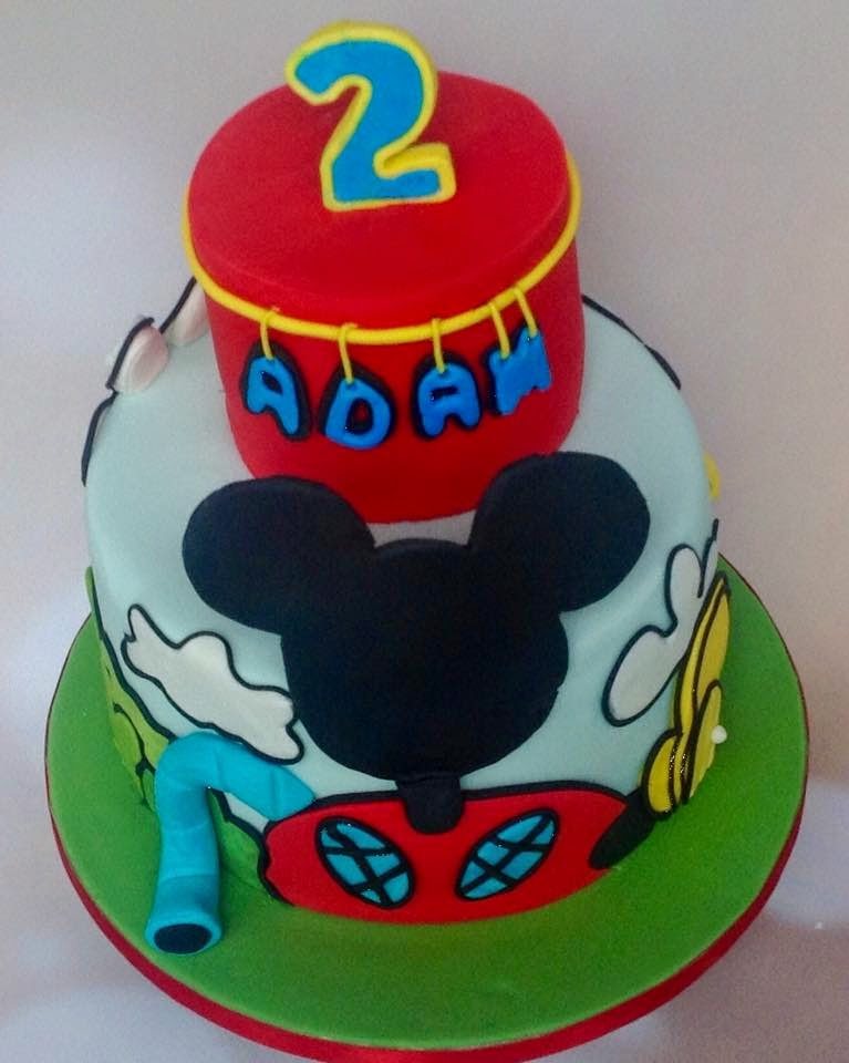 The Perfectionist Confectionist Adam Mickey Mouse Club House Birthday