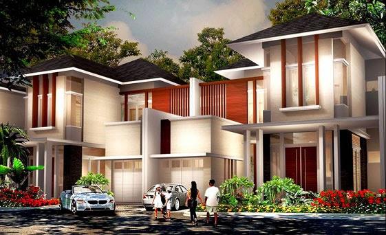 desain rumah mewah keren 2 Lantai - gambar 05
