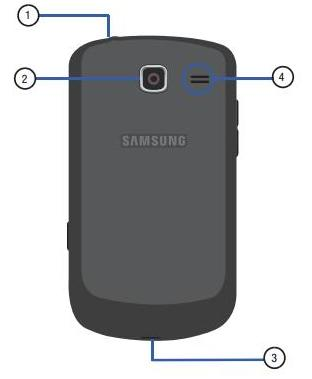 Samsung Comment 2 (Rear)