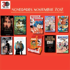 Novedades Planeta DeAgostini Cómics para Noviembre de 2012