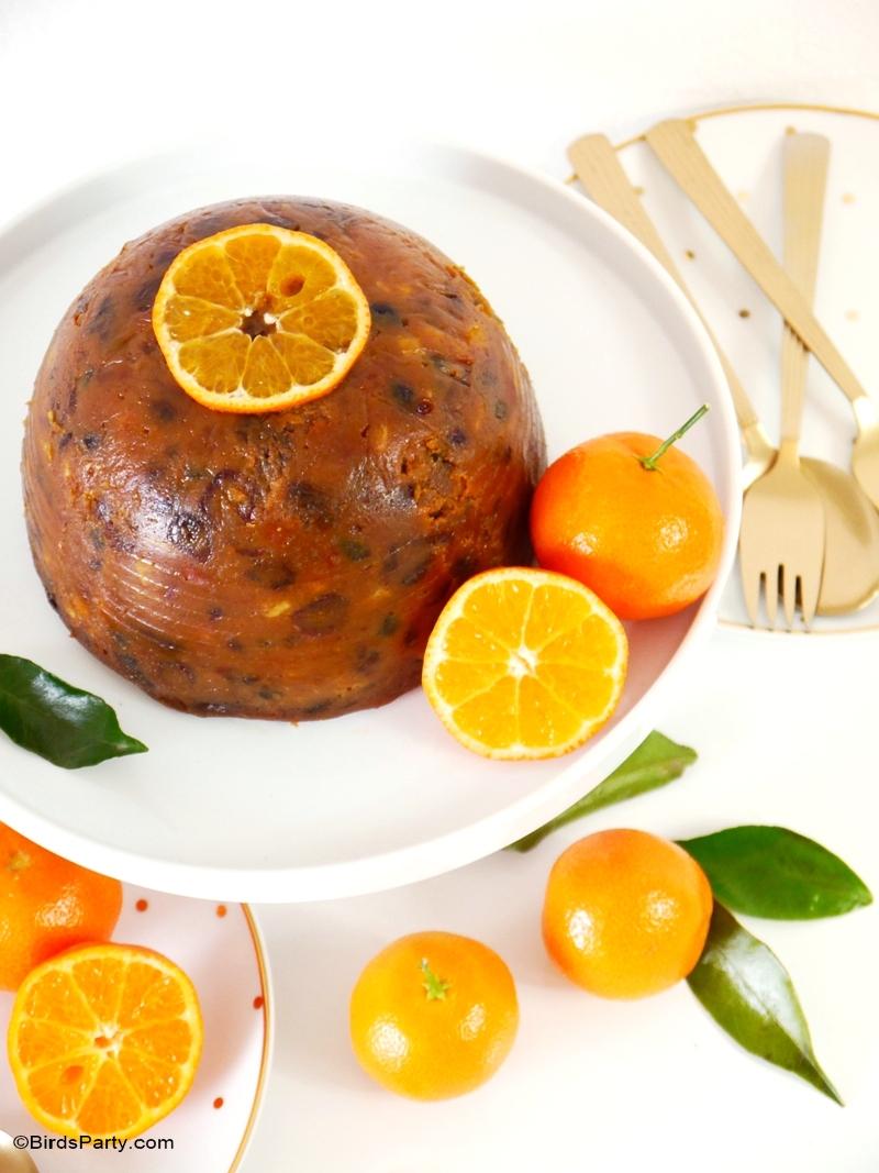 Recette Anglaise | Christmas Pudding de Noël