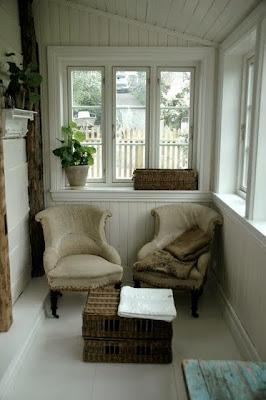 Sala de estar em espaço pequeno