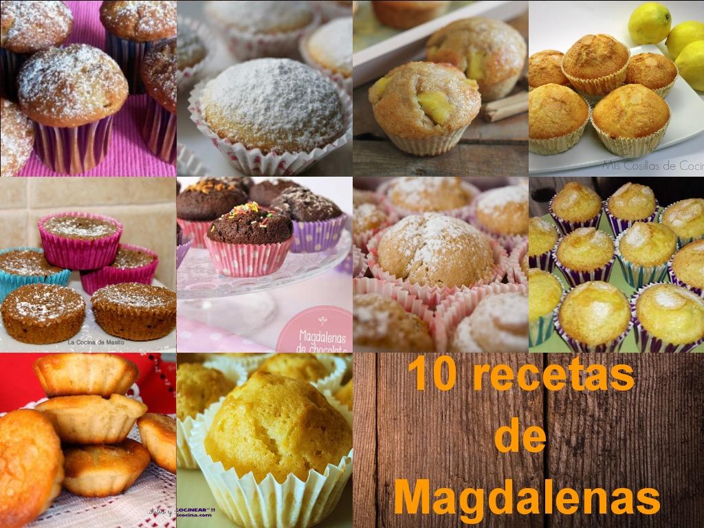 La cocina de masito 10 recetas de magdalenas - Pequerecetas magdalenas ...