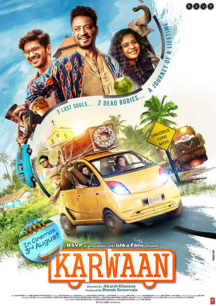 Karwaan (2018) Hindi Movie HDRip | 720p | 480p