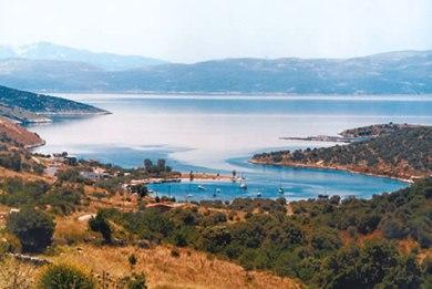 Η λίμνη του Δύστου παλιά...
