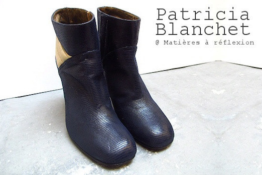 boots Patricia Blanchet marine encre Tarasse