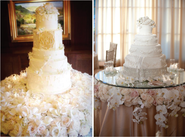 15 Stunning Cake Table Ideas - Belle the Magazine . The Wedding