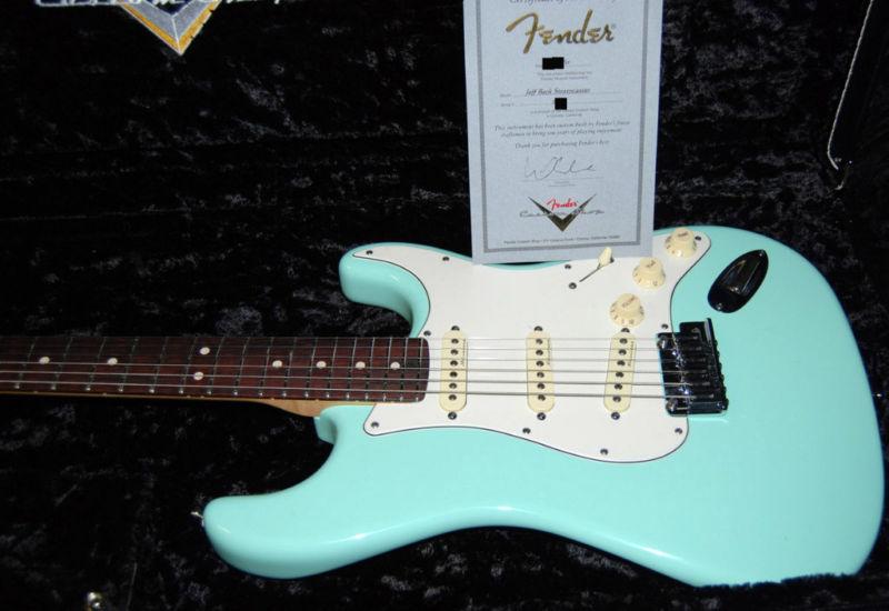 Fender Custom Shop Jeff Beck Strats Stratocaster Guitar Culture