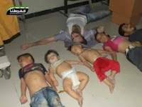 Surat Kabar Amerika: Washington Merestui Pembantaian Ghouta di Suriah