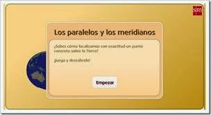 http://www.primaria.librosvivos.net/archivosCMS/3/3/16/usuarios/103294/9/5EP_Cono_cas_ud9_paralelos_merid/frame_prim.swf