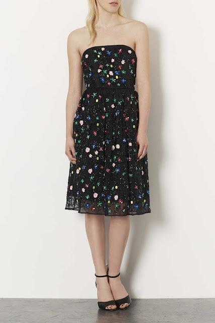 topshop sleeveless dress