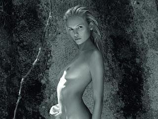 Natasha Poly nude in 2012 Pirelli Calendar