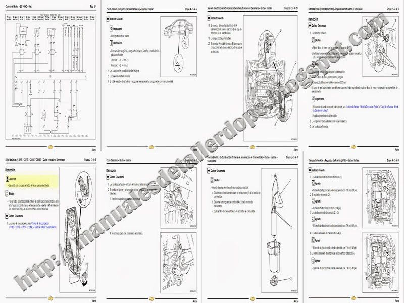 manual de taller chevrolet astra