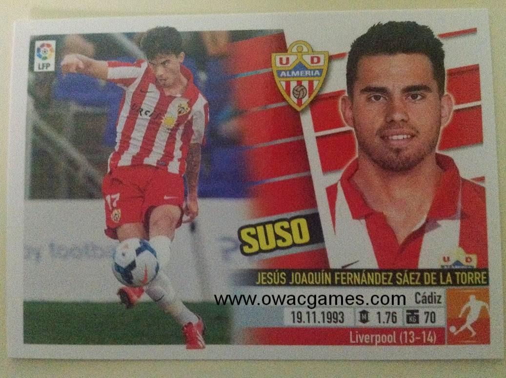 Liga ESTE 2013-14 Almeria Últimos Fichajes 30 - Suso
