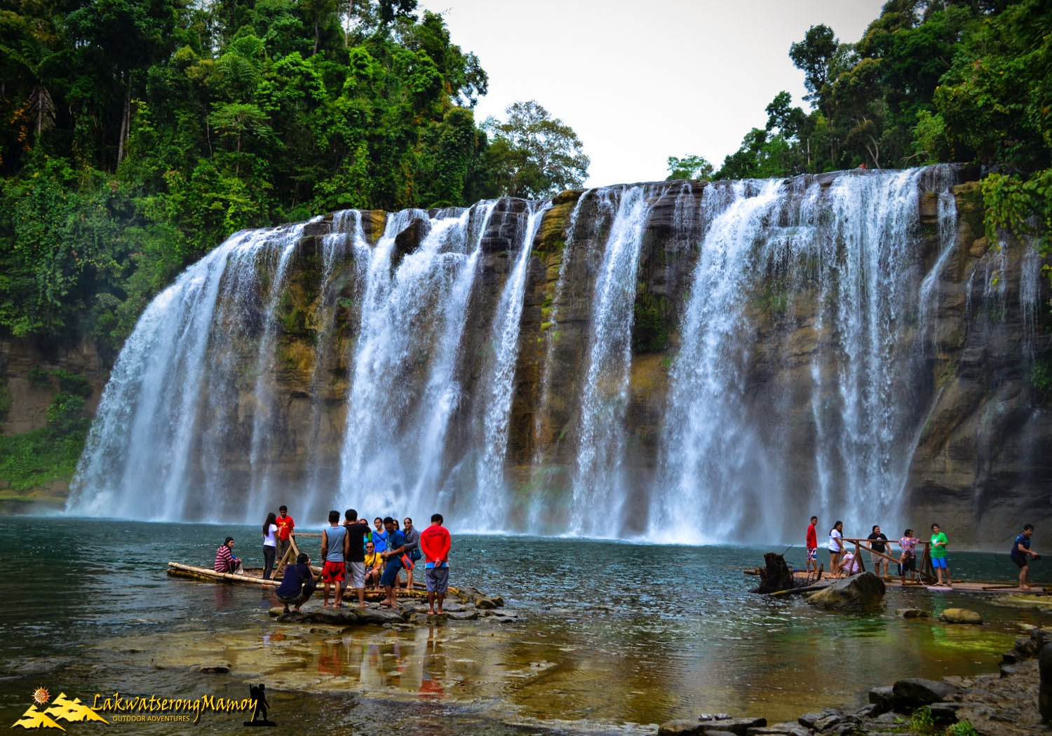 The Majestic Tinuy-an Falls, reputed as Niagara Falls of the ...