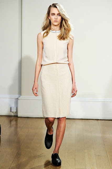 London Fashion Week S/S 2013: Harper in J JS Lee show