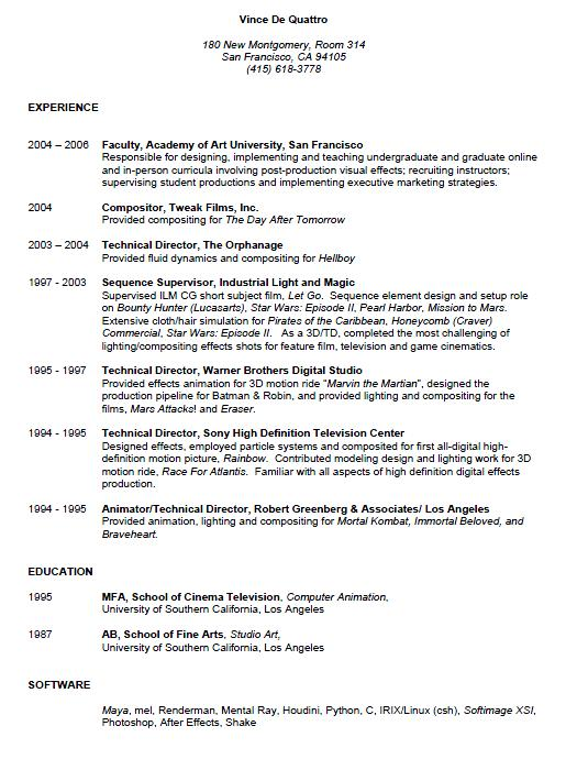 Examples Of Resumes How To Do A Good Resume Templates. Popular