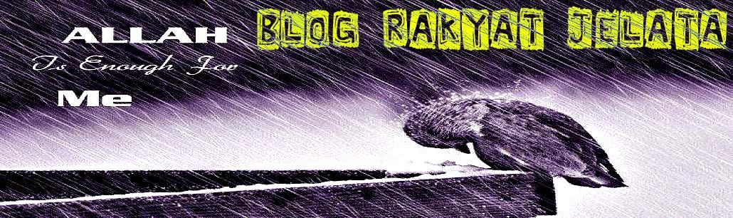Blog Rakyat Jelata