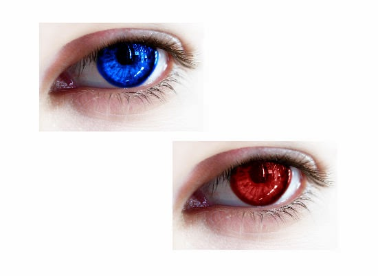 Recoloring Eyes for Gimp
