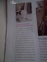 Uno de mis trabajos publicado en la revista El Mueble