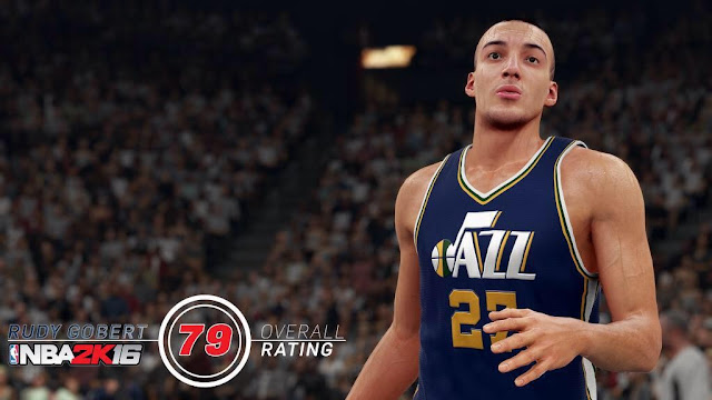 NBA2K16 Rudy Gobert