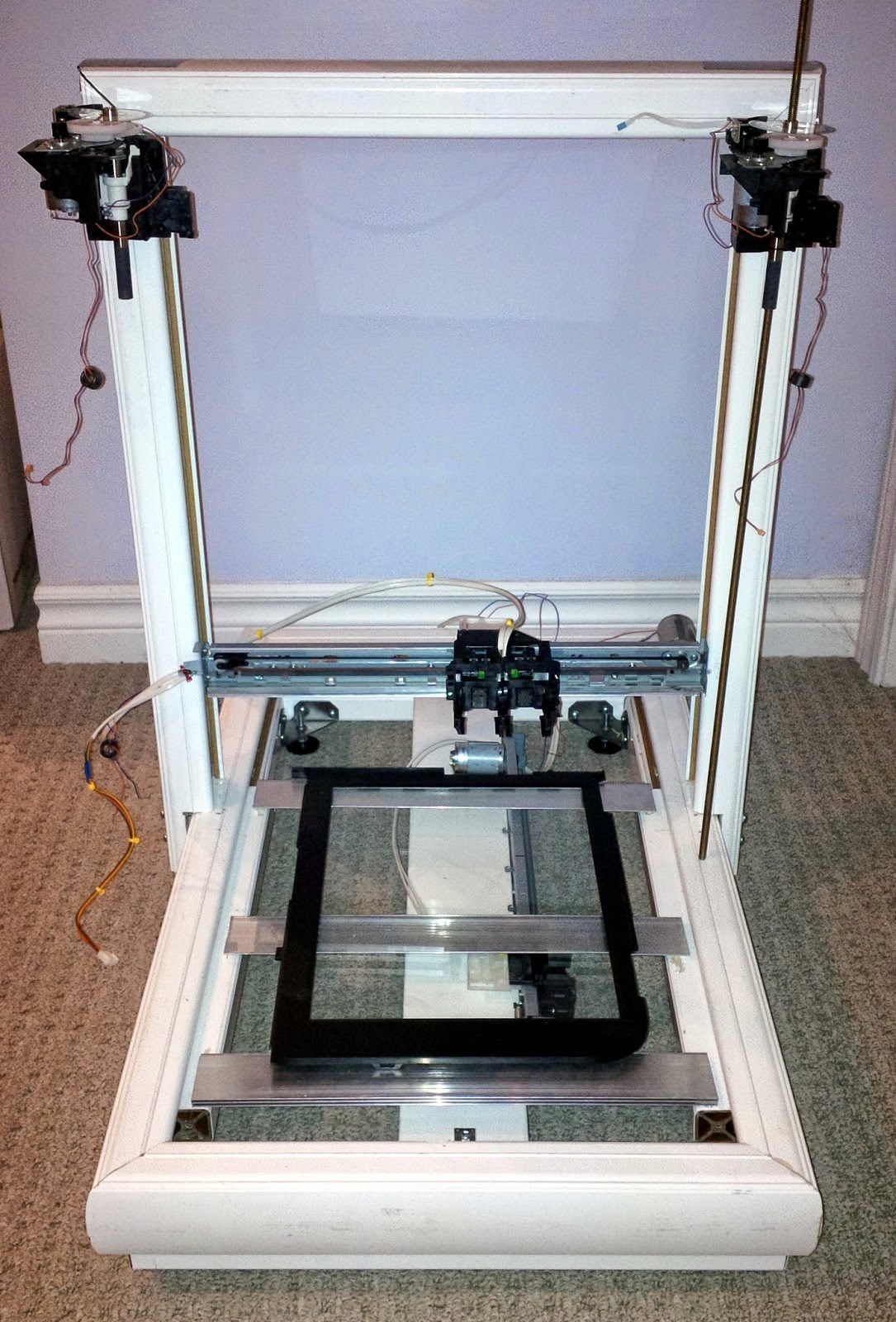 Diy d printing repscrap printer from salvaged