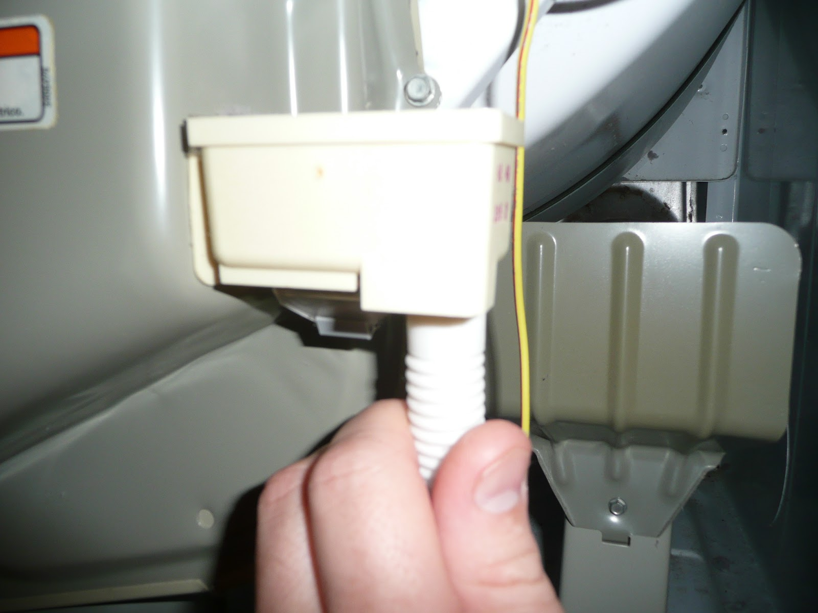 Do It Yourself Kenmore 90 Series Model 110 Clothes Dryer Runs But Wire In Your Thermostat Bundle Otherwise You Will Have To Run A Note These Wires Slight Bend Them Which Depicts Their Frontal Or Rear Locations Aid When Reconnecting After Reinstalling The
