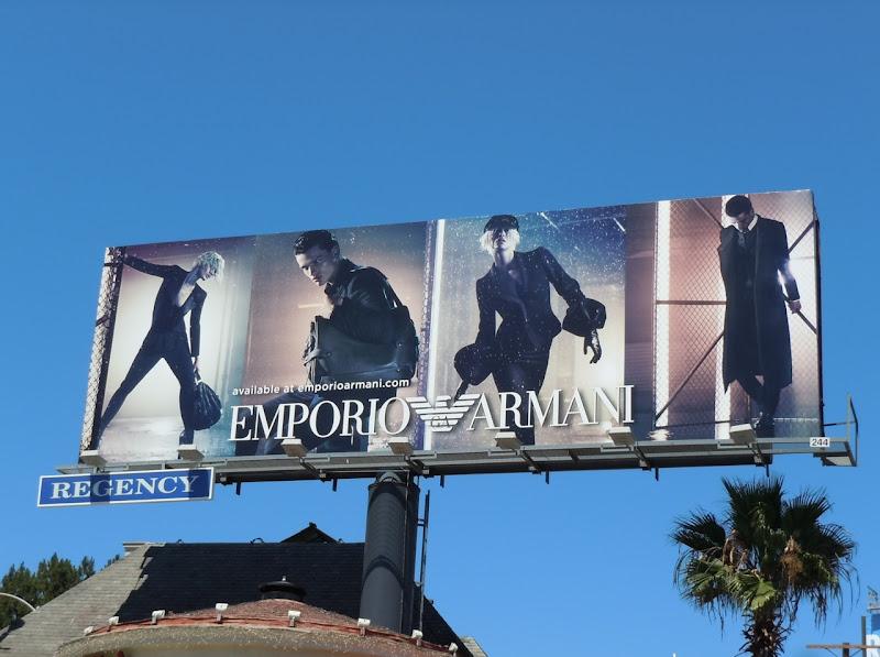 Emporio Armani FW 2011 billboard