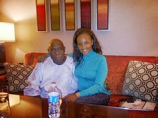 Nollywood Beautiful Actress, Princess Chineke Pictured With OBJ; Lands Job With UN