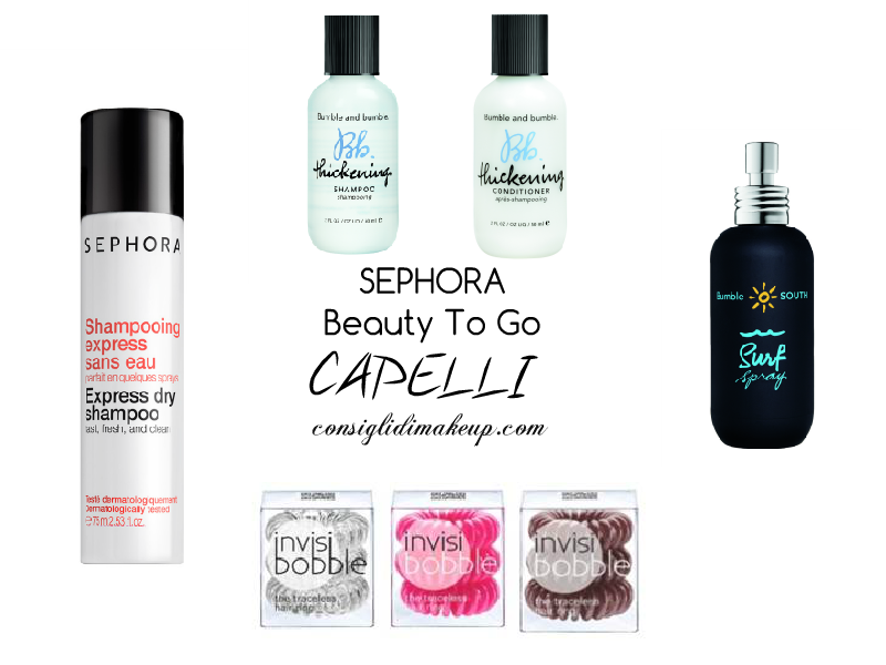 Novità Sephora - Minitaglie Beauty To Go
