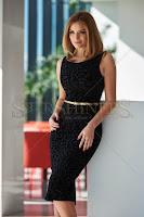 Rochie PrettyGirl Smoothly Black (PrettyGirl)