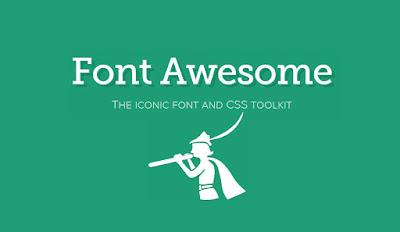 Cara Mengatasi Icon Font Awesome yang tidak Muncul
