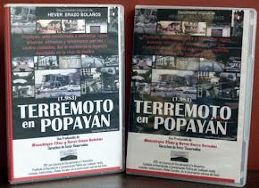 """Documental inédito """"Terremoto en Popayán"""" 1983-2018: 35 años. Kit con DVD, fotografias y afiche"""